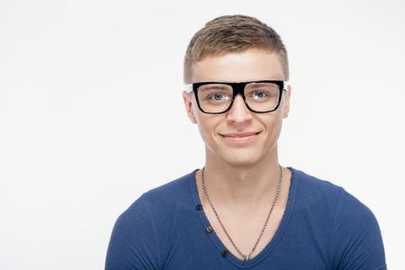 weirdo: portrait of a man sunglasses