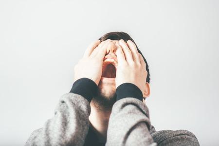 despair: man in despair