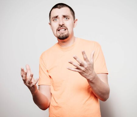 Man angry Stock Photo