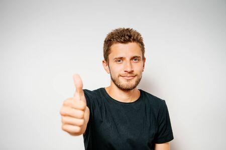 Man Showing Thumb Up