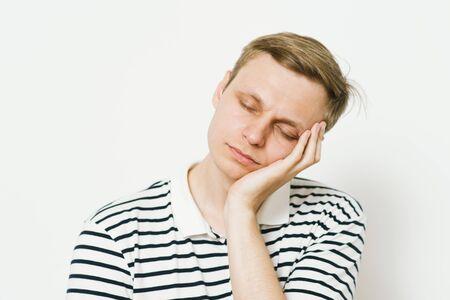 Sleep. Man