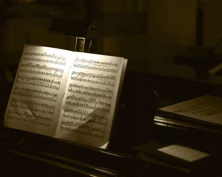 Piano Stockfoto