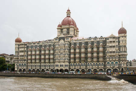 The Taj hotel in Mumbai, India Stock Photo - 20939938