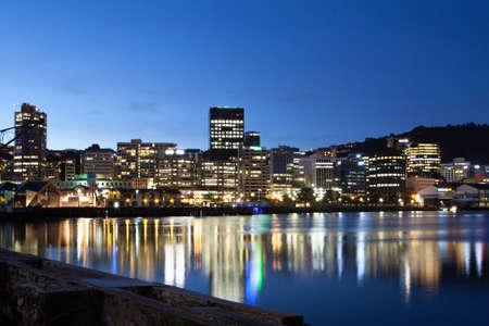 Wellington, New Zealand Standard-Bild