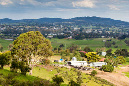 View over Bega