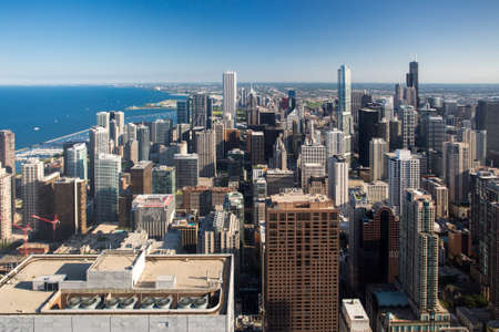 willis: Chicago Skyline Stock Photo