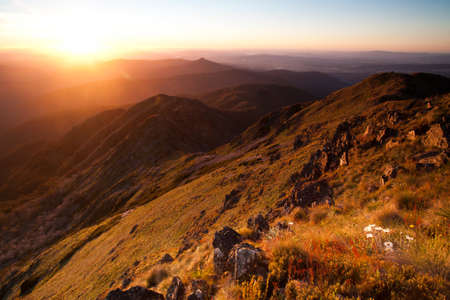 views of the mountains: Mt Buller Sunset