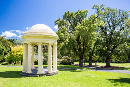 fitzroy: Fitzroy Gardens Stock Photo