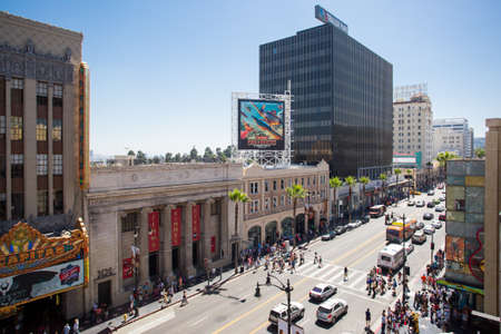 hollywood boulevard: Hollywood Blvd by Day
