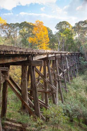trestle: Old Trestle Bridge in Koetong