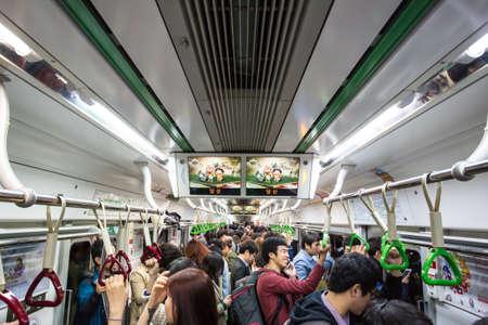 Crowded Subway 에디토리얼