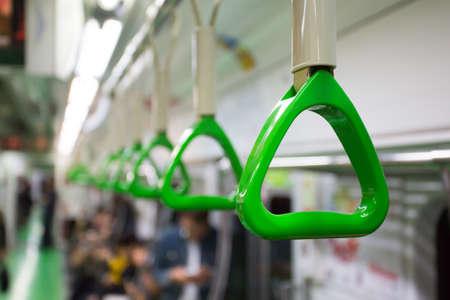 Train Carriage Handle Standard-Bild