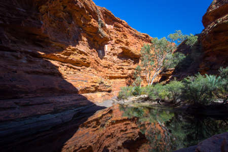 eden: The Garden of Eden at Kings Canyon in the Northern Territory, Australia