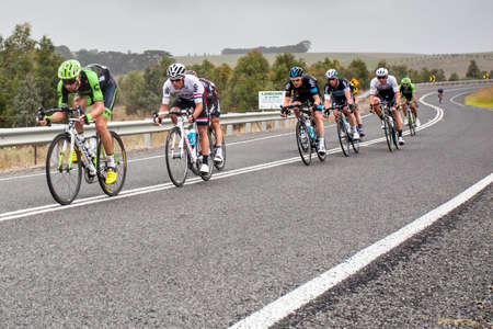 MELBOURNE, AUSTRALIA - FEBRUARY 1: The inaugral Cadel Evans Great Ocean Road Race Editorial