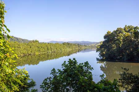 daintree: The Daintree River near the town of Daintree in far nth Queensland, Australia