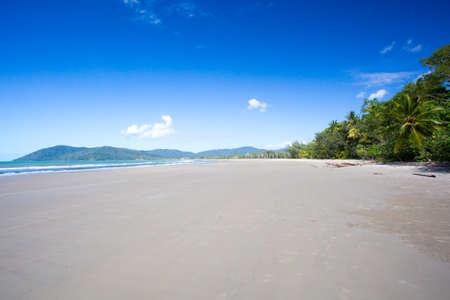 Thornton Beach near Cape Tribulation in the Daintree, Queensland, Australia Stock Photo