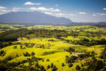 A stunning view point near Millaa Millaa over the Atherton Tablelands in Queensland, Australia