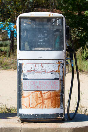new south wales: Disused petrol pumps in Dalgety, New South Wales, Australia