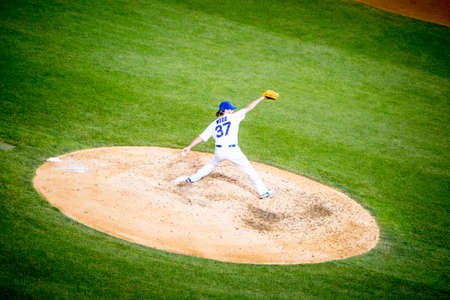 brewers: Chicago, USA - August 12, 2015: Chicago Cubs play Milwaukee Brewers on a warm summers night at Wrigley Field