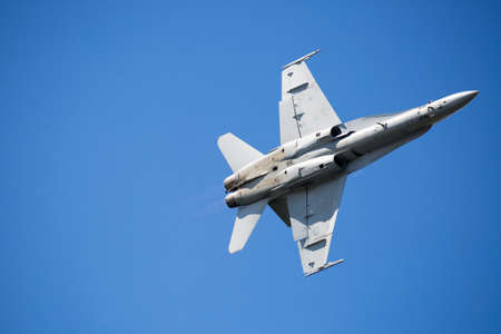 RAAF A21 McDonnell Douglas Boeing FA-18A Hornet Stock Photo