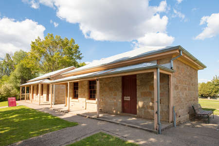 Beechworth Historic and Cultural Precinct Stock Photo