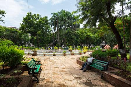 Horniman Circle Mumbai Stockfoto