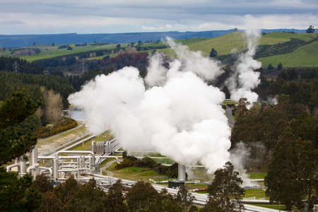 Wairakei geothermisch station