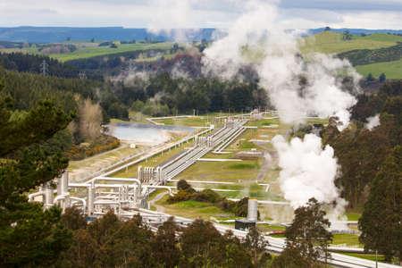 Wairakei Geothermal Station