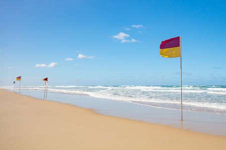 Gold Coast Lifeguard Stock Photo