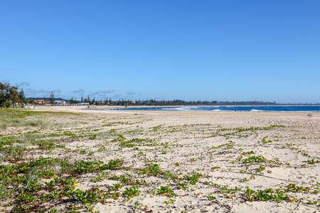 Kingscliff Beach Australia Stock Photo