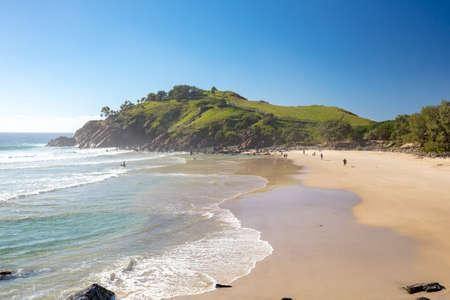 Cabarita Beach Australia 写真素材