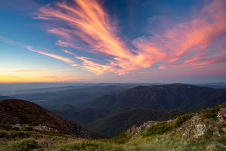 Mt Buller Sunset View