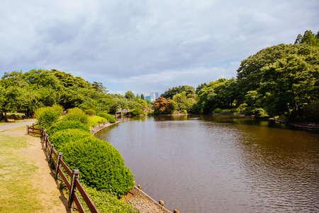 Shinjuku Gyoen National Garden in Tokyo