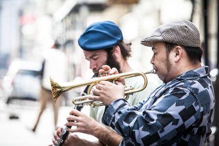 New Orleans Street Performers