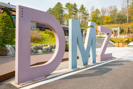 DMZ Third Infiltration Tunnel Site South Korea