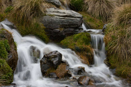 The Remarkables Water Feature Stockfoto - 131591398