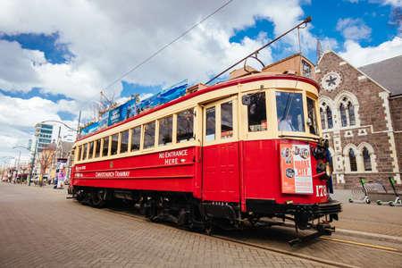 Christchurch Tramway Banco de Imagens - 131591608