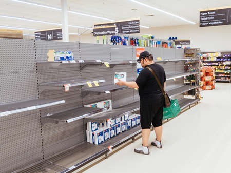 Panic Buying at Australian Supermarkets due to Corona Virus Fears Editöryel