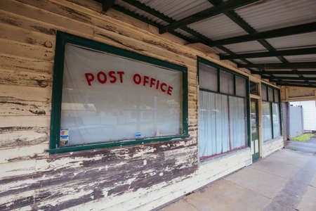 Out of business Post Office 版權商用圖片