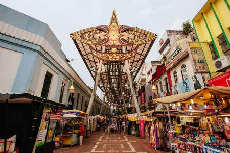 Kasturi Walk in Kuala Lumpur Malaysia Редакционное