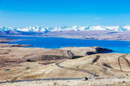 Mt John Observatory at Lake Tekapo in New Zealand