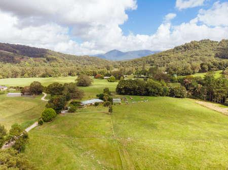 Landscape around Chillingham in Australia