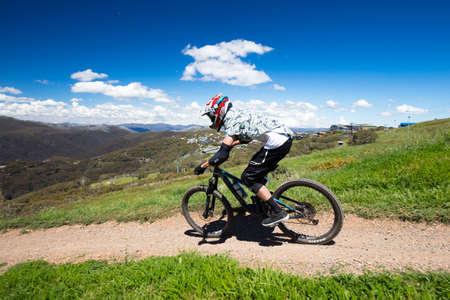 Mountain Bike Riders at Mt Buller Australia