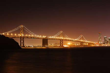 Bay Bridge in San Francisco USA