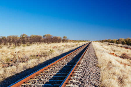 The Ghan Railway Northern Territory Australia Standard-Bild