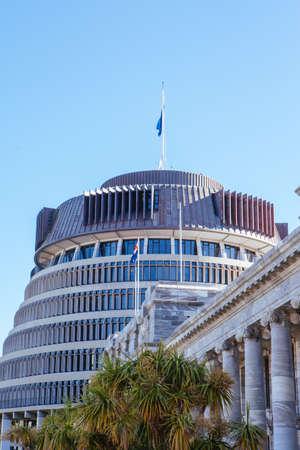 Wellington Parliament in New Zealand 版權商用圖片