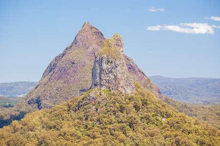 Glass House Mountains Queensland Australia Foto de archivo