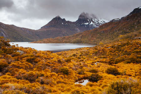 Cradle Mountain in Tasmania Australia
