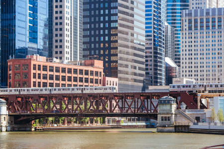 Chicago Building Architecture in USA