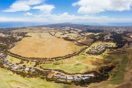 Mornington peninsula澳大利亚鸟瞰图